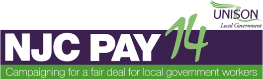 NJC Pay 14: campaigning for a fair deal for local government workers