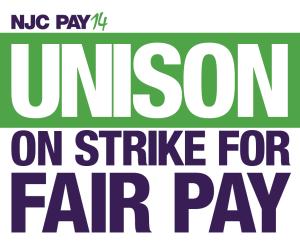 UNISON on strike for fair pay