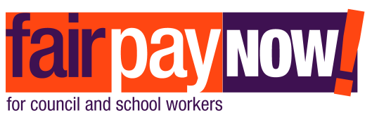 Fair Pay NOW! for council and school workers